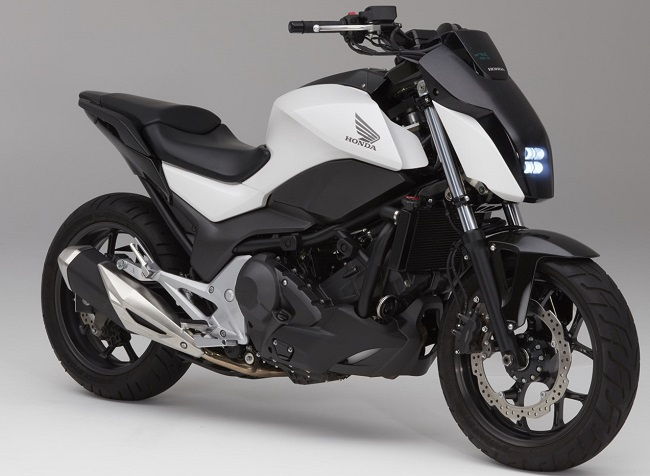 THE MOTORCYCLE THAT CAN'T FALL OVER: Image: Honda US / Quickpic