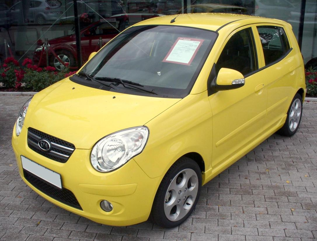 WHAT ONCE WAS:The original Kia Picantol caused a few chuckles when it was launched. Image: Google