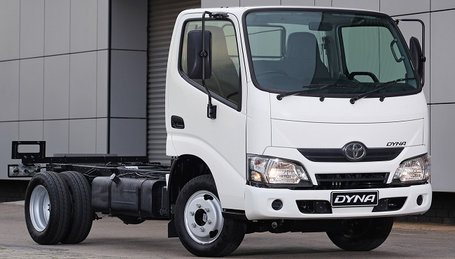 2017 TOYOTA DYNA: Image: Toyota SA / Quickpic