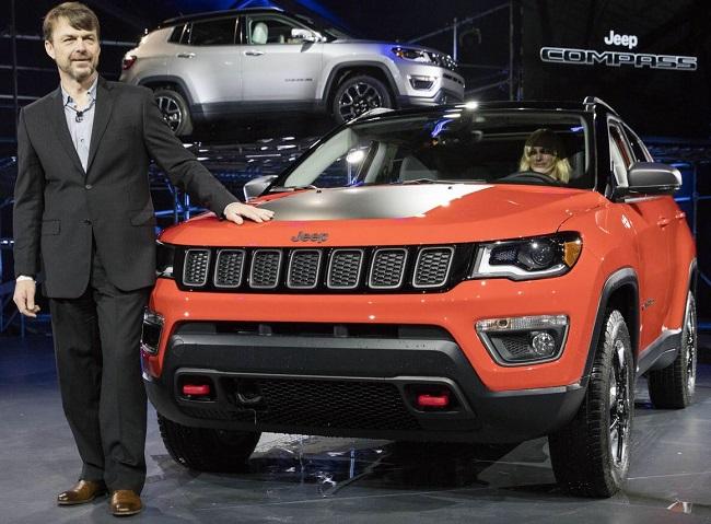 2017 JEEP COMPASS Image: Jeep / Newspress USA