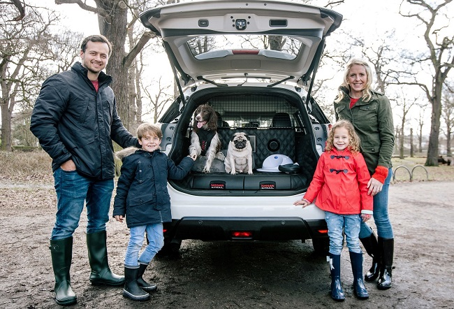 TAKE THE DOGS: Image: Nissan UK / Newspress