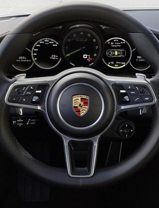 2017 PORSCHE PANAMERA HYBRID. Image: Porsche / Newspress USA