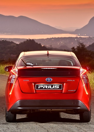2017 TOYOTA PRIUS: Image: Toyota SA / Motorpress
