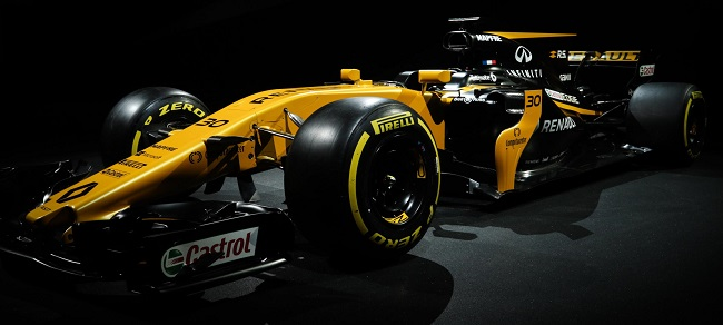 RENAULT F1 CAR FOR 2017: Aiming for points from every race. Image: Newspress / Renault F1