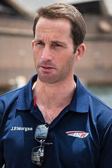 AIMING FOR THE TOP: Olympic yachting champion Sir Charles Benedict Ainslie will be close to airborne in the racing. Image: Wikipedia