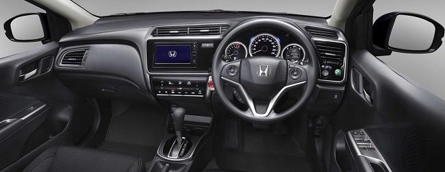 CABIN QUALITY DEFINED: Leather and fine finishes distinguish the 2017 Honda Ballade. Image: Honda / Quickpic