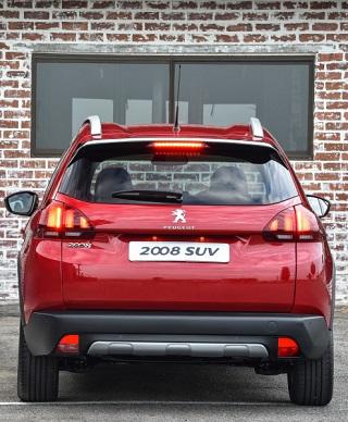 2017 Peugeot 2008. Image: Peugeot / Motorpress