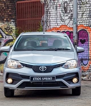 2017 TOYOTA ETIOS: Image: Toyota SA