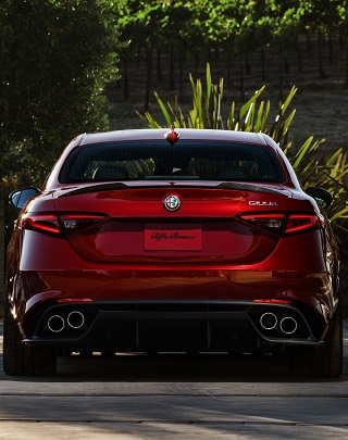 HOT ITALIANS BACK IN SA: Image: Alfa Romeo