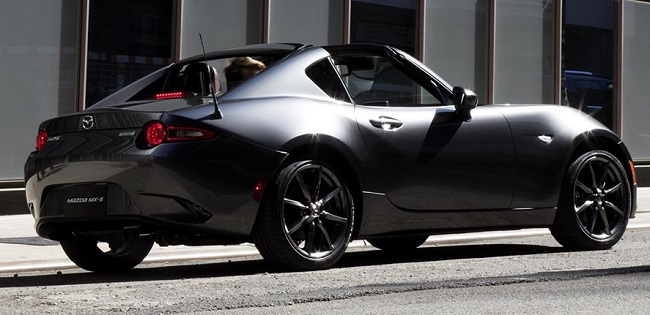 NEW HARDTOP FROM MAZDA. Image: Mazda / Newspress