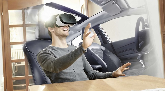 GOING VIRTUAL: Who needs a sales person? Image: Ford / Newspress