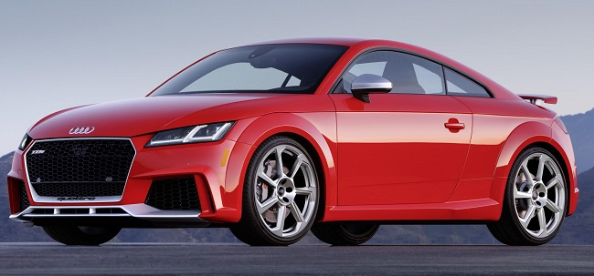 NEW AUDI TT RS: Image: Audi US / Newspress USA