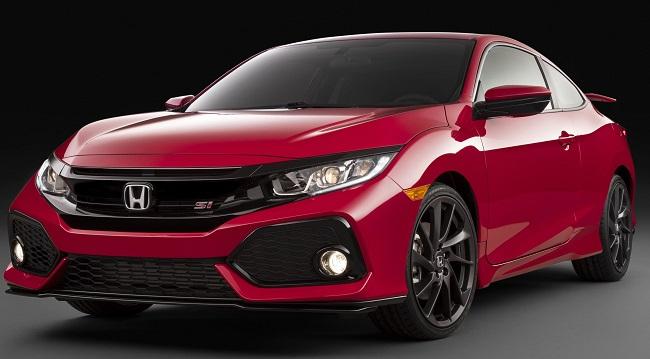 2017 Honda SI COUPE: Image: Honda US / NewspressUSA