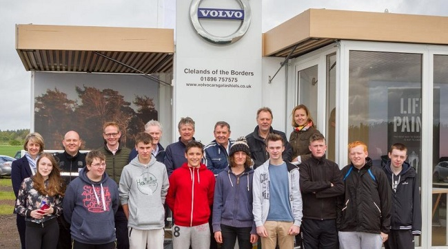 VOLVO GETS SERIOUS ABOUT ROAD SAFETY: A series of courses for pre-driving test youngsters aged 14-17 has been started by a Volvo dealer in Scotland. Image: Volvo / Newspress