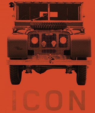 STORY OF AN ICON: The cover of the anniversary history of the Land Rover Image: Land Rover
