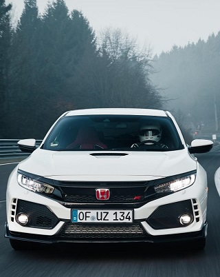 HONDA TYPE R AT RING:  Image: Honda