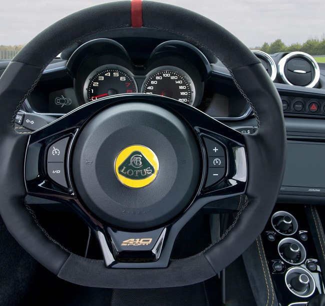 LOTUS EVORA 410. Image: Lotus Motors