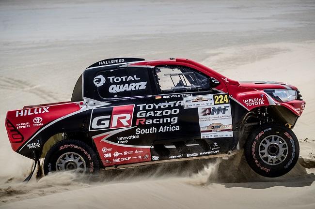 2017 DOHA RALLY - Day 3 Image: Toyota SA