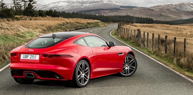 2017 JAGUAR 2.0 F-TYPE. Image: Jaguar