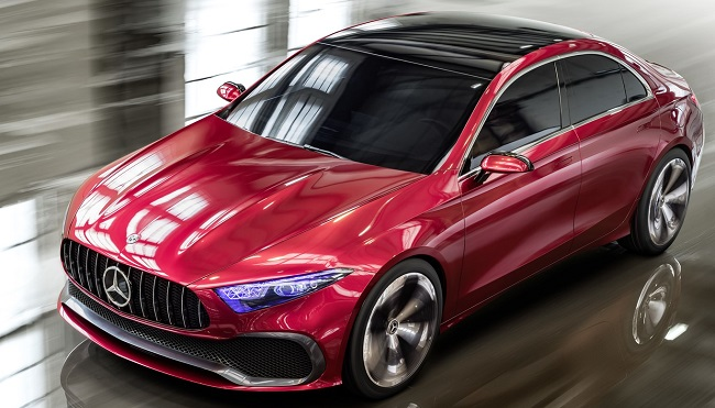 MERCEDS BANKS ON COMPACTS: Image: Mercedes-Benz