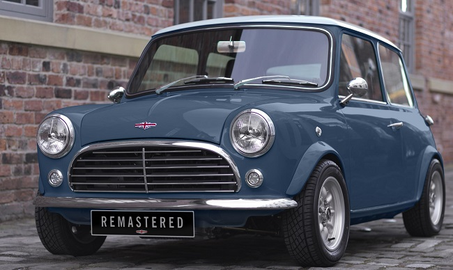 BACK FROM THE DEAD: The Mini Remastered is the real thing from the 1960's - but all-modern. Image: David Brown Automotive / Newspress