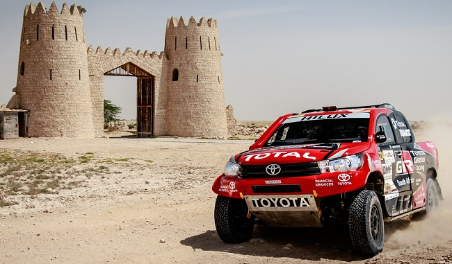 Toyota SA on 2017 Doha Cross-Country rally