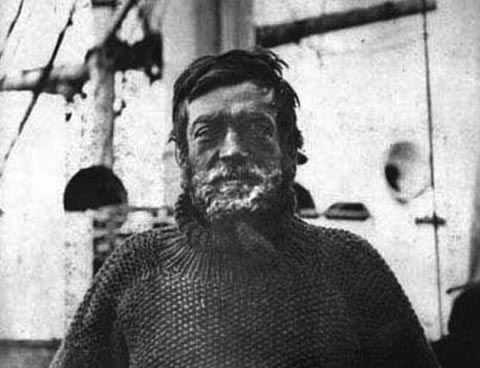 SIR ERNEST SHACKLETON: He tried, but failed, to cross the Antarctic after his ship, the Endeavor, was sunk by ocean pack-ice.