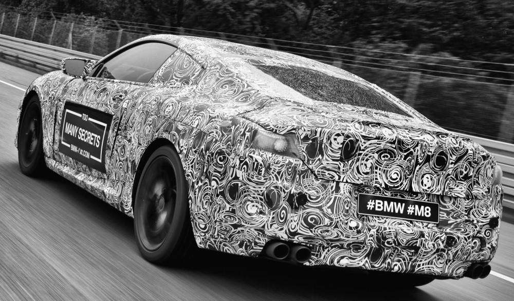 2017 BMW M8: Image: BMW M / Newspress