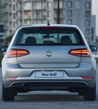 2017 Golf. Image: VW SA