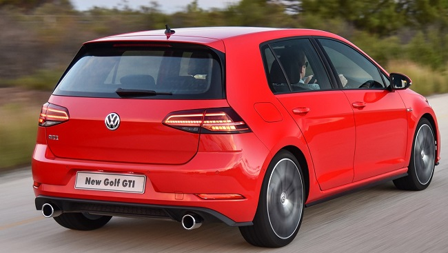 2017 Golf. Image: VW SA