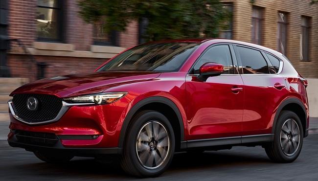 2017 MAZDA CX-5 Image: Quickpic / Mazda SA