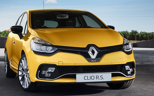 2017 RENAULT CLIO RS: Image: Renault