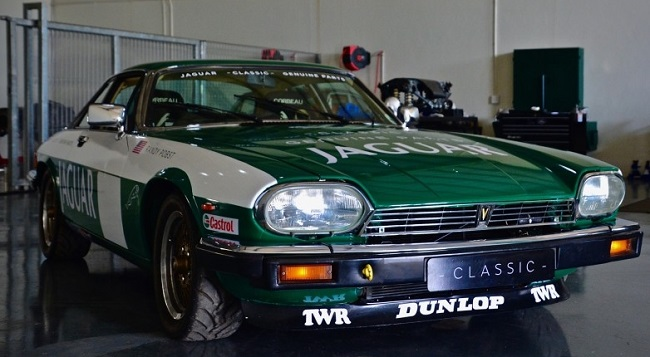 ALL READY FOR THE HILL: This classic Jaguar XJS has been prepared for the 2017 Simola Hillclimb's Classic Car Friday by Jaguar Land Rover SA apprentices with classic parts and lubes. Image: Jaguar South Africa