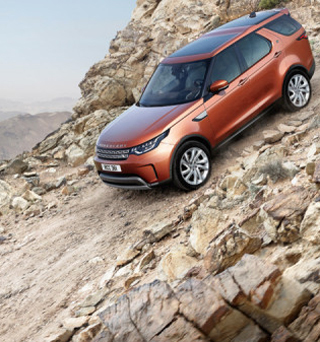 GENERATION FIVE: New style, new image, for the Indian-owned company. Image: Land Rover