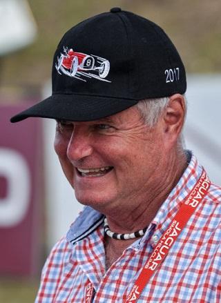 TONY MARTIN: SA racing icon was Grand Marshal at the 2017 Simola Hillclimb. Image: Rob Till