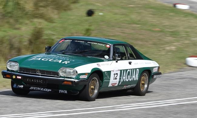 JAGUAR XJ-S: The automotive weapon of chioce for Jaguar guest Randy Pobst. Image: Rob Till