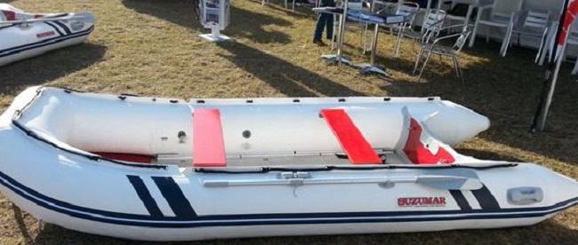 SUZUMAR INFLATABLES: Image: natalpowerboats.co.za