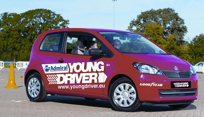 YOUNG DRIVERS: 10-year-olds being taught driving skills. Image: Newspress