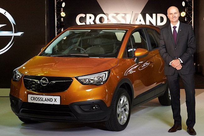 NEW OPELS ON WAY TO SA: Bill Mott, Opel's international sales director, reveals that the Opel Crossland X (pictured) will come to South Africa. Image: Opel / Quickpic.
