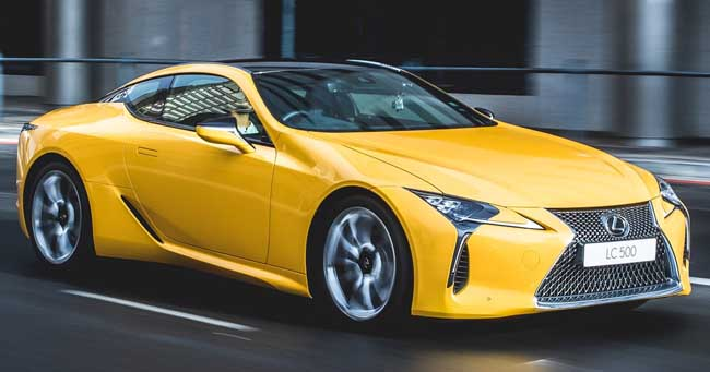 2017 LEXUS SC COUPE: Image: Lexus South Africa / Quickpic