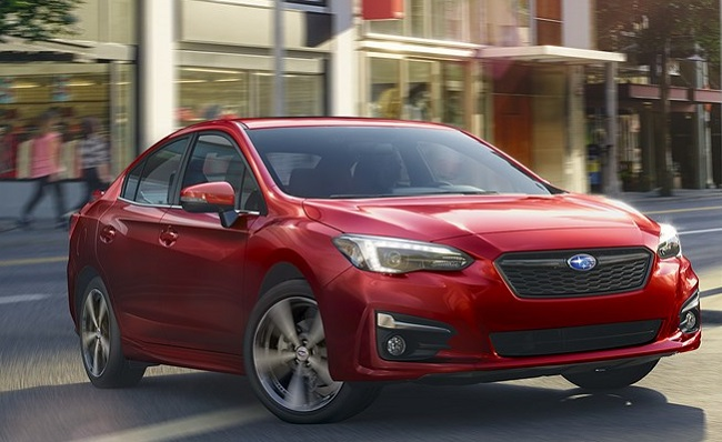 2017 SUBARU IMPREZA: Image: Subaru