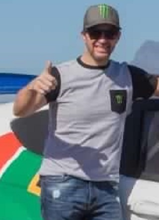 PETTER SOLBERG: Thumb-up for the Cape Town championship final. Image: Supplied