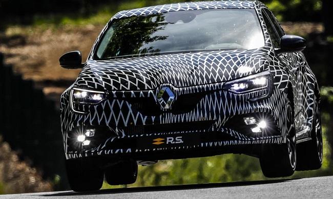 2017 RENAULT MEGANE SPORT: Image: Renault / Newspress