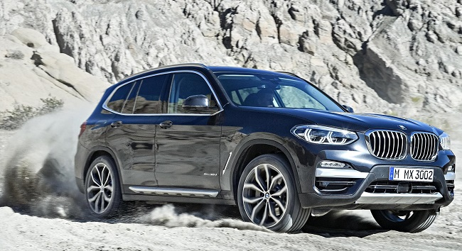 NEXT BMW X3: Generation III has more power, more features and more-efficient power trains. Image: BMW / Newspress