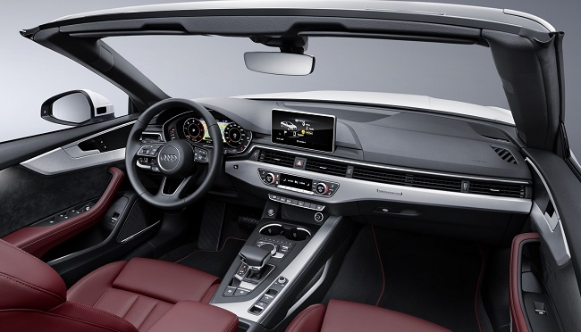 2017 AUDI A5/S5 CABRIO: Image: Audi / Quickpic