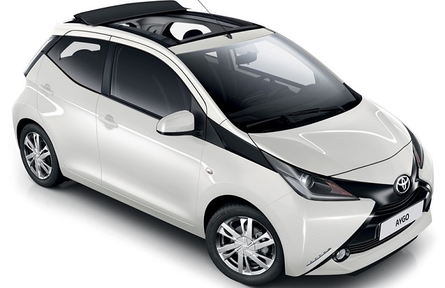 TOYOTA AYGO: Third model added to the South African range. Image: Toyota