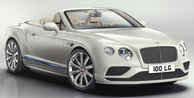 2017 BENTLEY GALENE: Image: Bentley Motors / Newspress