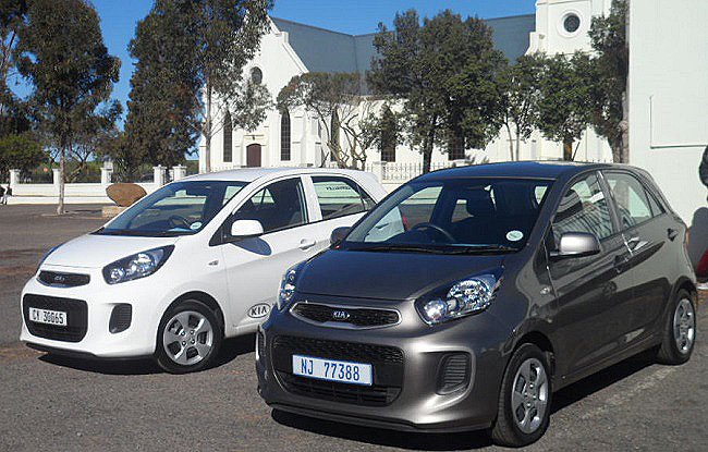 NOPE, THAT'S THE PREVIOUS KIA PICANTO: They still looked pretty darn smart though, even though The Corner thought the