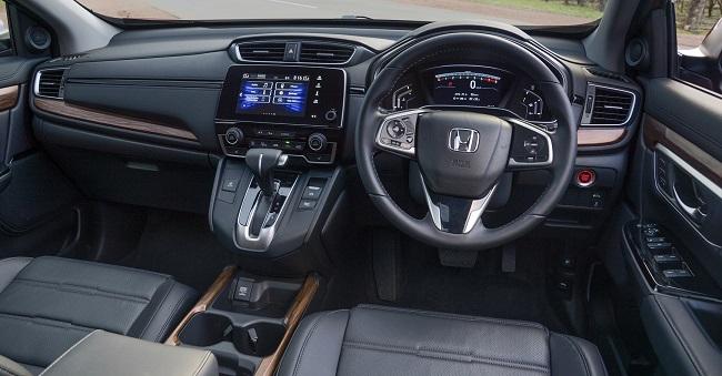 2017 HONDA CR-V: Image: Honda / Quickpic