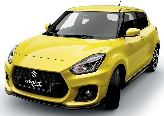 2018 SUZUKI SWIFT SPORT. Image: Suzuki Motors / Newspress